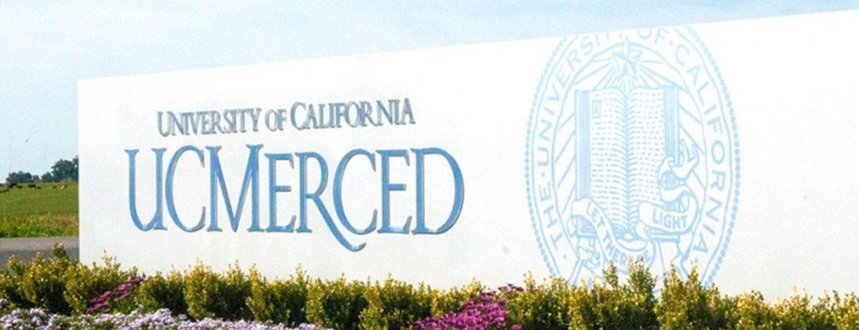 UC Merced Front Signage